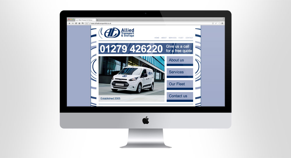 Allied Transport Website 01
