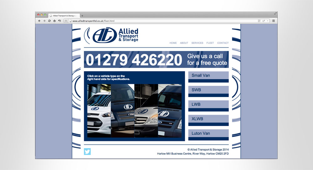 Allied Transport Website 02